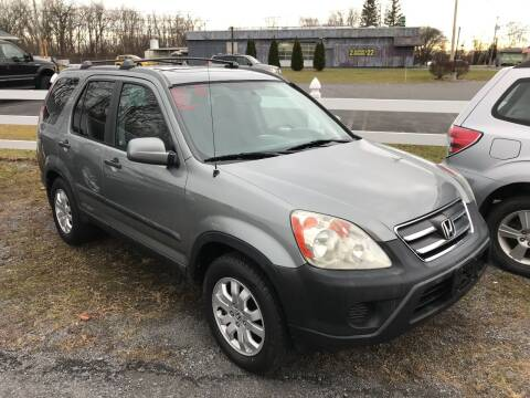 2006 Honda CR-V for sale at RJD Enterprize Auto Sales in Scotia NY