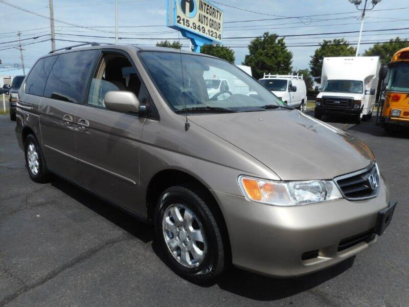 2003 Honda Odyssey for sale at Integrity Auto Group in Langhorne PA