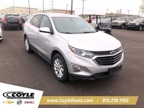 2018 Chevrolet Equinox for sale at COYLE GM - COYLE NISSAN - New Inventory in Clarksville IN