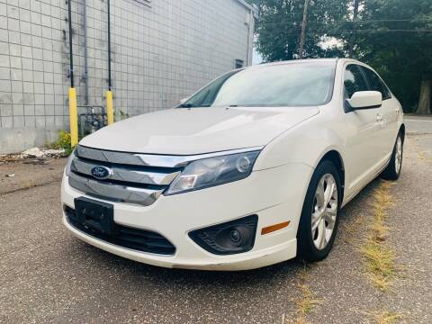 2012 Ford Fusion for sale at New England Motor Cars in Springfield MA