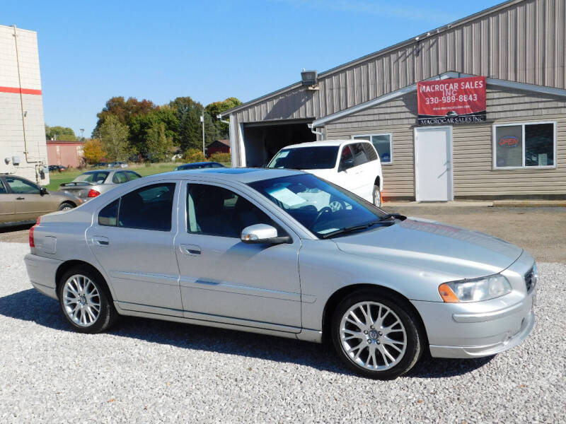 2007 Volvo S60 for sale at Macrocar Sales Inc in Akron OH