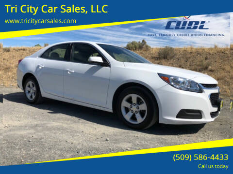 2016 Chevrolet Malibu Limited for sale at Tri City Car Sales, LLC in Kennewick WA