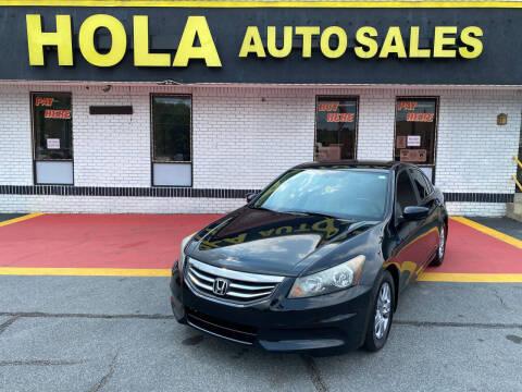 2012 Honda Accord for sale at HOLA AUTO SALES CHAMBLEE- BUY HERE PAY HERE - in Atlanta GA