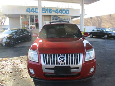 2010 Mercury Mariner for sale at Elite Auto Sales in Willowick OH