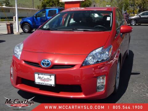 2010 Toyota Prius for sale at McCarthy Wholesale in San Luis Obispo CA