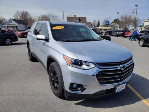 2019 Chevrolet Traverse for sale at Frenchie's Chevrolet and Selects in Massena NY