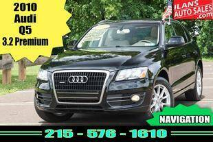 2010 Audi Q5 for sale at Ilan's Auto Sales in Glenside PA