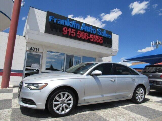 2015 Audi A6 for sale at Franklin Auto Sales in El Paso TX