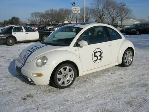 2001 Volkswagen New Beetle for sale at D & T AUTO INC in Columbus MN