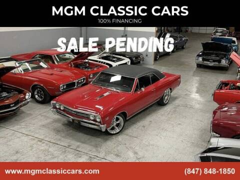 1967 Chevrolet Chevelle for sale at MGM Classic Cars in Addison, IL