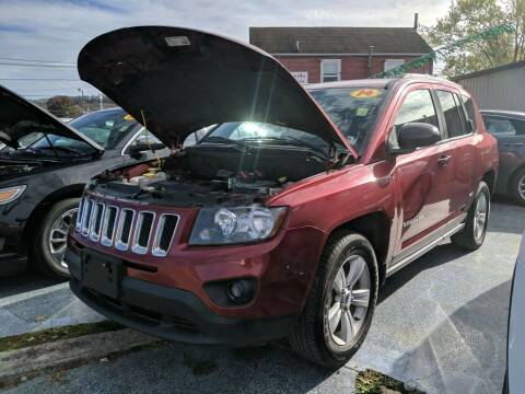 2014 Jeep Compass for sale at Sissonville Used Cars in Charleston WV