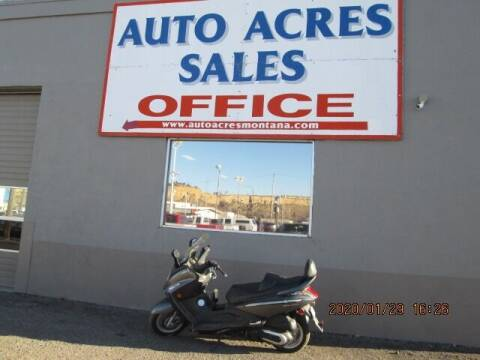 2009 SYM RV-250 for sale at Auto Acres in Billings MT