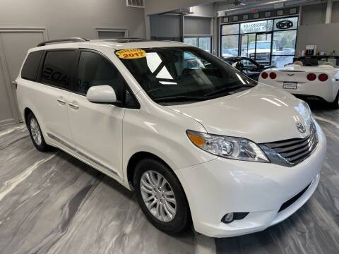 2017 Toyota Sienna for sale at Crossroads Car & Truck in Milford OH