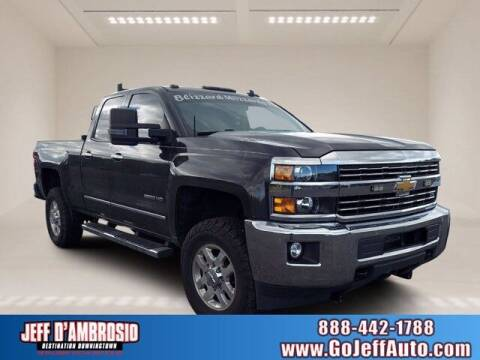 2015 Chevrolet Silverado 2500HD for sale at Jeff D'Ambrosio Auto Group in Downingtown PA