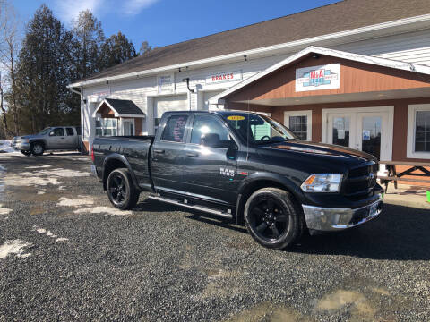 2015 RAM Ram Pickup 1500 for sale at M&A Auto in Newport VT