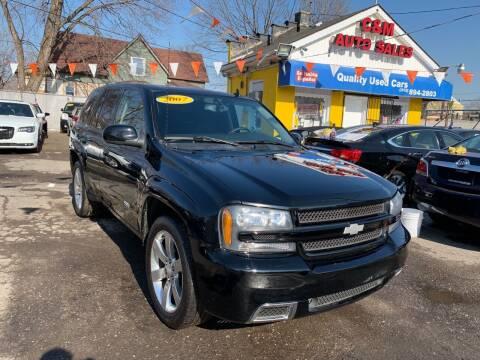 2007 Chevrolet TrailBlazer for sale at C & M Auto Sales in Detroit MI