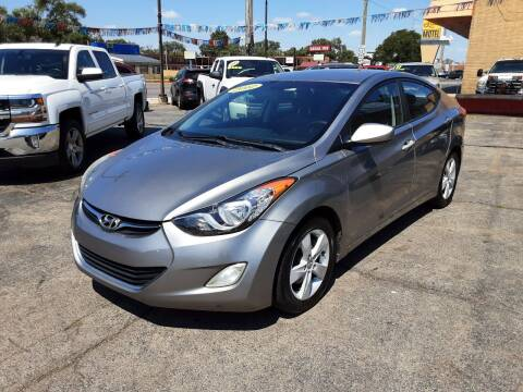 2012 Hyundai Elantra for sale at TOP YIN MOTORS in Mount Prospect IL