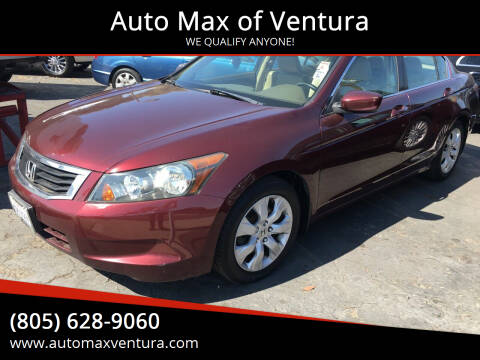 2010 Honda Accord for sale at Auto Max of Ventura in Ventura CA