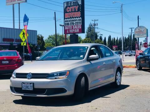2013 Volkswagen Jetta for sale at City Motors in Hayward CA