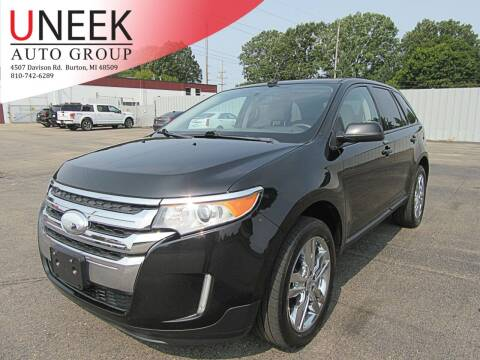 2014 Ford Edge for sale at Uneek Auto Group LLC in Burton MI
