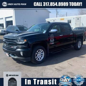 2016 Chevrolet Silverado 1500 for sale at INDY AUTO MAN in Indianapolis IN