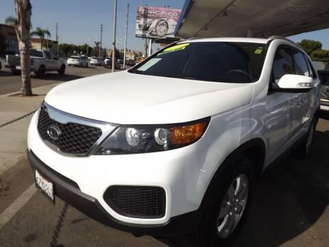 2013 Kia Sorento for sale at PACIFICO AUTO SALES in Santa Ana CA