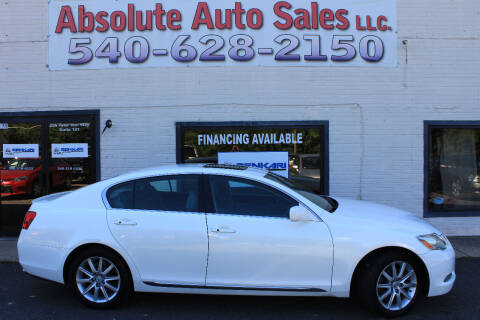 2006 Lexus GS 300 for sale at Absolute Auto Sales in Fredericksburg VA