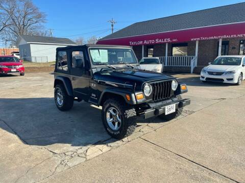 2006 Jeep Wrangler for sale at Taylor Auto Sales Inc in Lyman SC