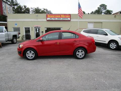 2012 Chevrolet Sonic for sale at DERIK HARE in Milton FL