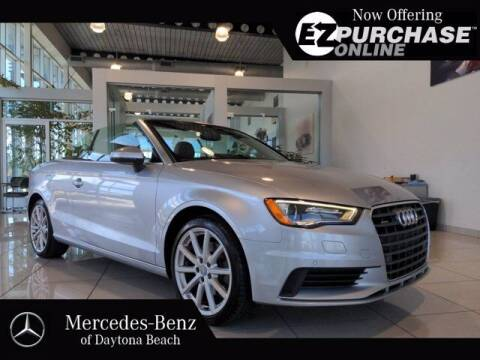 2015 Audi A3 for sale at Mercedes-Benz of Daytona Beach in Daytona Beach FL