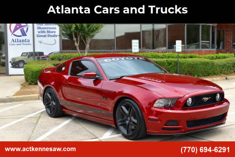 2014 Ford Mustang for sale at Atlanta Cars and Trucks in Kennesaw GA