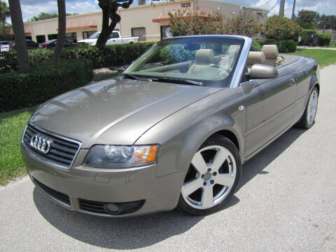 2006 Audi A4 for sale at FLORIDACARSTOGO in West Palm Beach FL