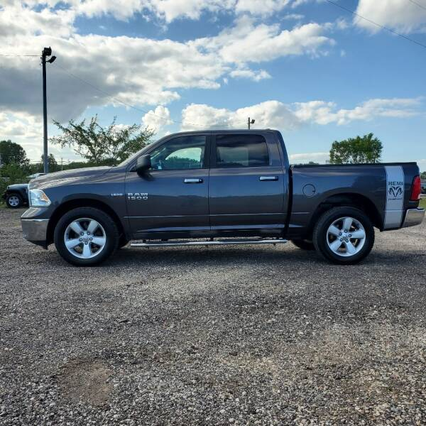 2017 RAM Ram Pickup 1500 for sale at Simmons off road sales LLC in Saint Johns MI