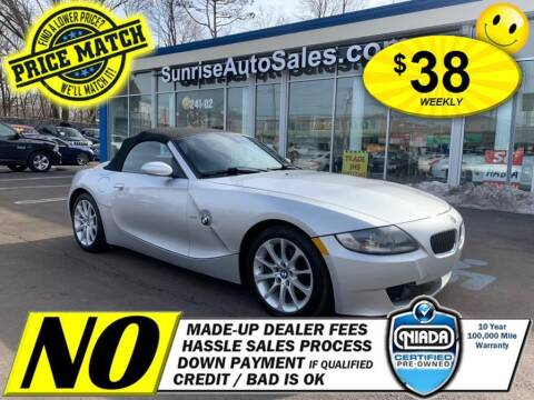 2006 BMW Z4 for sale at AUTOFYND in Elmont NY