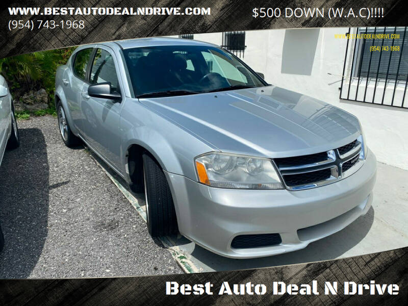 2012 Dodge Avenger for sale at Best Auto Deal N Drive in Hollywood FL