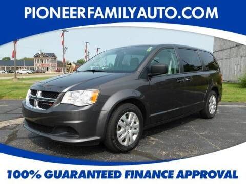 2018 Dodge Grand Caravan for sale at Pioneer Family auto in Marietta OH