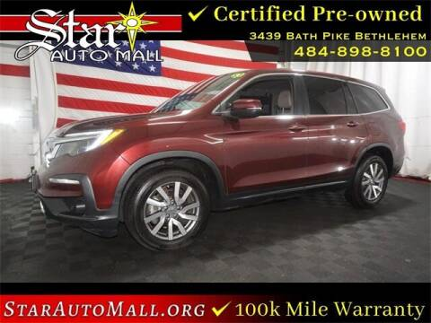 2019 Honda Pilot for sale at STAR AUTO MALL 512 in Bethlehem PA