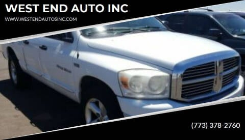 2007 Dodge Ram for sale at WEST END AUTO INC in Chicago IL