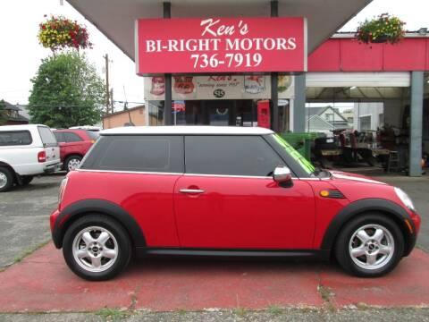 2008 MINI Cooper for sale at Bi Right Motors in Centralia WA
