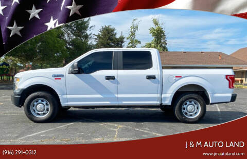 2015 Ford F-150 for sale at J & M Auto Land in Sacramento CA