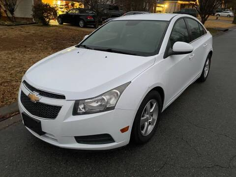 2012 Chevrolet Cruze for sale at Access Auto in Cabot AR