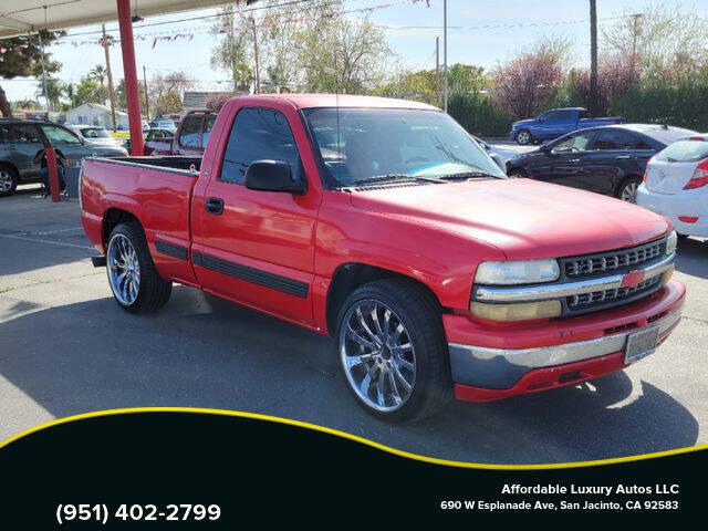 2001 Chevrolet Silverado 1500 for sale at Affordable Luxury Autos LLC in San Jacinto CA