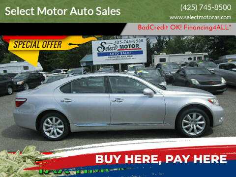 2009 Lexus LS 460 for sale at Select Motor Auto Sales in Lynnwood WA