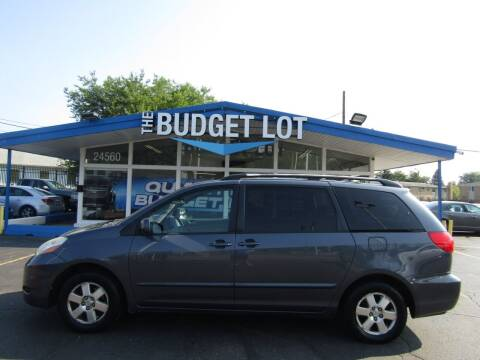 2008 Toyota Sienna for sale at THE BUDGET LOT in Detroit MI