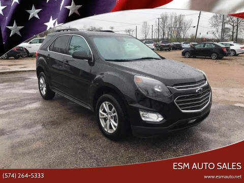 2017 Chevrolet Equinox for sale at ESM Auto Sales in Elkhart IN