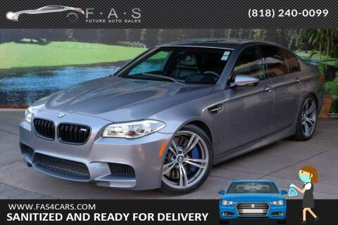 2015 BMW M5 for sale at Best Car Buy in Glendale CA
