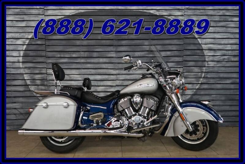 2017 Indian Springfield for sale at AZMotomania.com in Mesa AZ