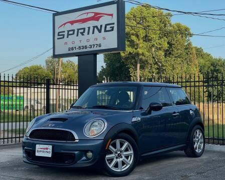 2011 MINI Cooper for sale at Spring Motors in Spring TX