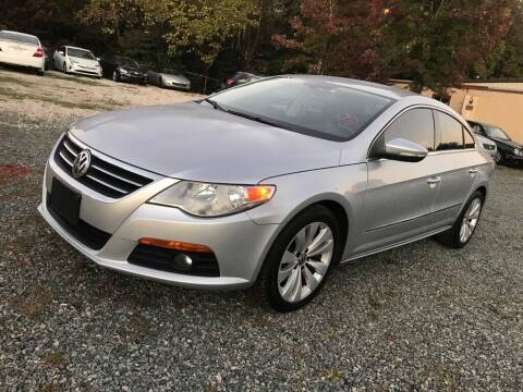 2010 Volkswagen CC for sale at Twins Motors in Charlotte NC