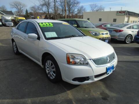 2012 Mitsubishi Galant for sale at DISCOVER AUTO SALES in Racine WI